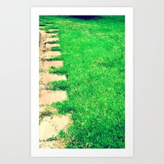 The Path Art Print