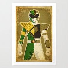 Green With Envy Art Print