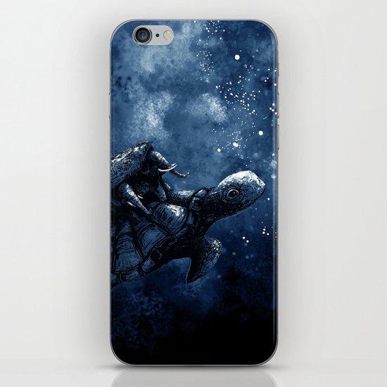 Cosmic Turtle iPhone & iPod Skin