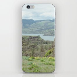 Tom McCall Preserve Looking Out at The Columbia River Gorge iPhone Skin