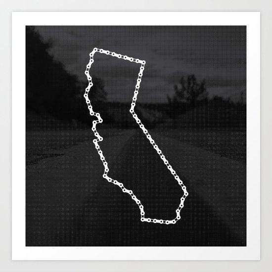 Ride Statewide - California Art Print