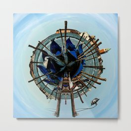 Little Planet of Venice Metal Print