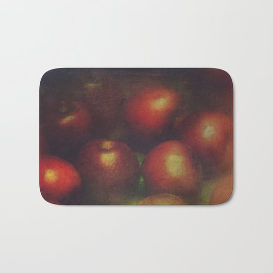 Once Upon a Time a Red Apple Bath Mat