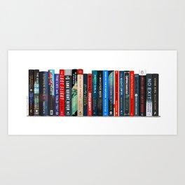Bookstack No. 31 Art Print