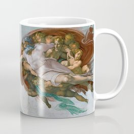 Creation of Adam – Sistine Chapel by Michelangelo Coffee Mug