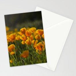 Poppy Fields Forever Stationery Cards