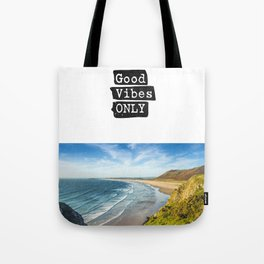 Good vibes only Ocean very Tote Bag