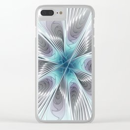 Flourish Elegance Clear iPhone Case