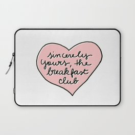 sincerely yours Laptop Sleeve