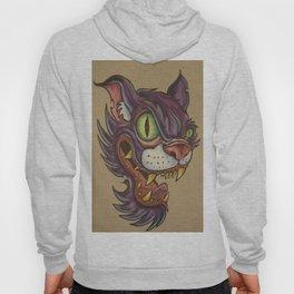 mean cat Hoody
