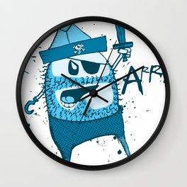 Bluebeard Wall Clock