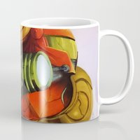 metroid Mugs featuring Metroid by JeyJey Artworks