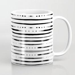 B&W Shibori #society6 #shibori Coffee Mug