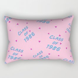 Class of 1986 Rectangular Pillow
