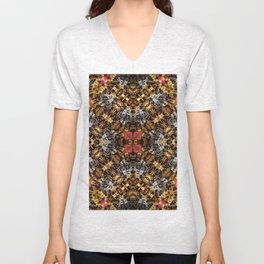 Busy Bees Never Get Fleas Unisex V-Neck