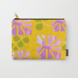 Saffron Garden Carry-All Pouch