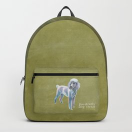 Standard Poodle Backpack