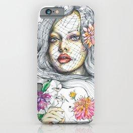 Nostalgia in Bloom iPhone Case