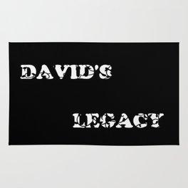 David's Legacy Scattered Leaves (Inverted) Rug