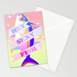 HEY SEXY FISH Stationery Cards