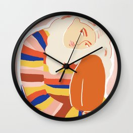 For My Lola Wall Clock