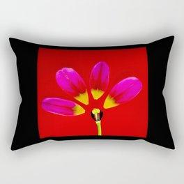 deconstructed tulip Rectangular Pillow