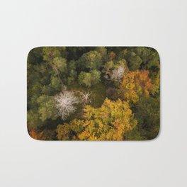 Forest Birdview Bath Mat