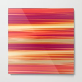 Sunset Abstract Metal Print