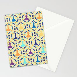 Game Board - Cream Stationery Cards