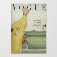 VOGUE 1950 Canvas Print