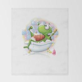 Bubble Bath Throw Blanket