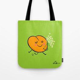 Apricot St Germain Tote Bag