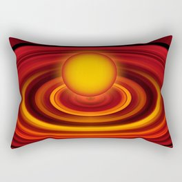 Energy ball 177 Rectangular Pillow