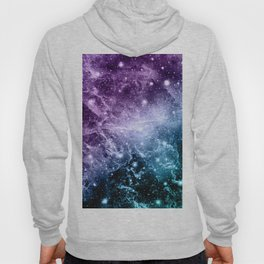 Purple Teal Galaxy Nebula Dream #4 #decor #art #society6 Hoody