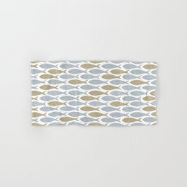 shoal of herring Hand & Bath Towel