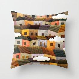 Shanty town #2 Throw Pillow