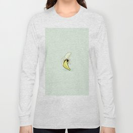 Banana cartoon. Long Sleeve T-shirt