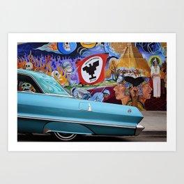 Impala en Aztlan Art Print