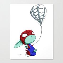 SpiderImp(ling) Canvas Print