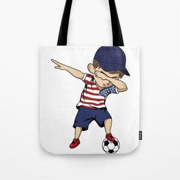 America Football Dab Sport Jersey World Cup Gift Tote Bag