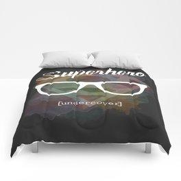 Superhero undercover Comforters