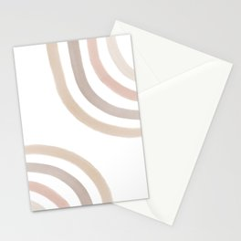 Vintage Watercolor Rainbow Stationery Cards