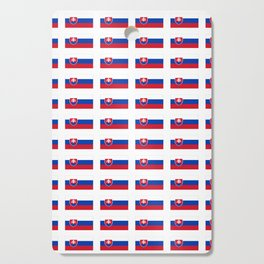 flag of slovakia -,Slovak,Slovensko,Eslovaquia,eslovaco, Czechoslovakia, Bratislava, Košice Cutting Board