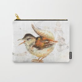 The small wren Carry-All Pouch