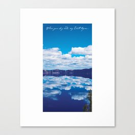 Where Your Sky Ends Canvas Print