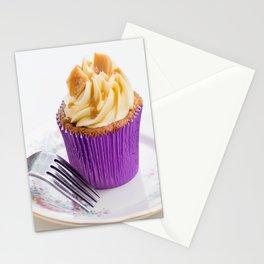Banoffee Cupcake Stationery Cards
