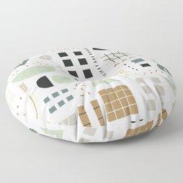 Trendy doodles Floor Pillow