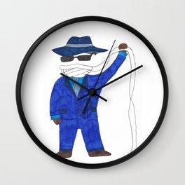 Invisible Man Wall Clock