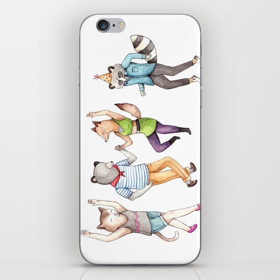 Party Animals iPhone Skin