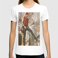 michael clifford T-shirts featuring Clifford Michael // Live by Fan_Girl_Designs